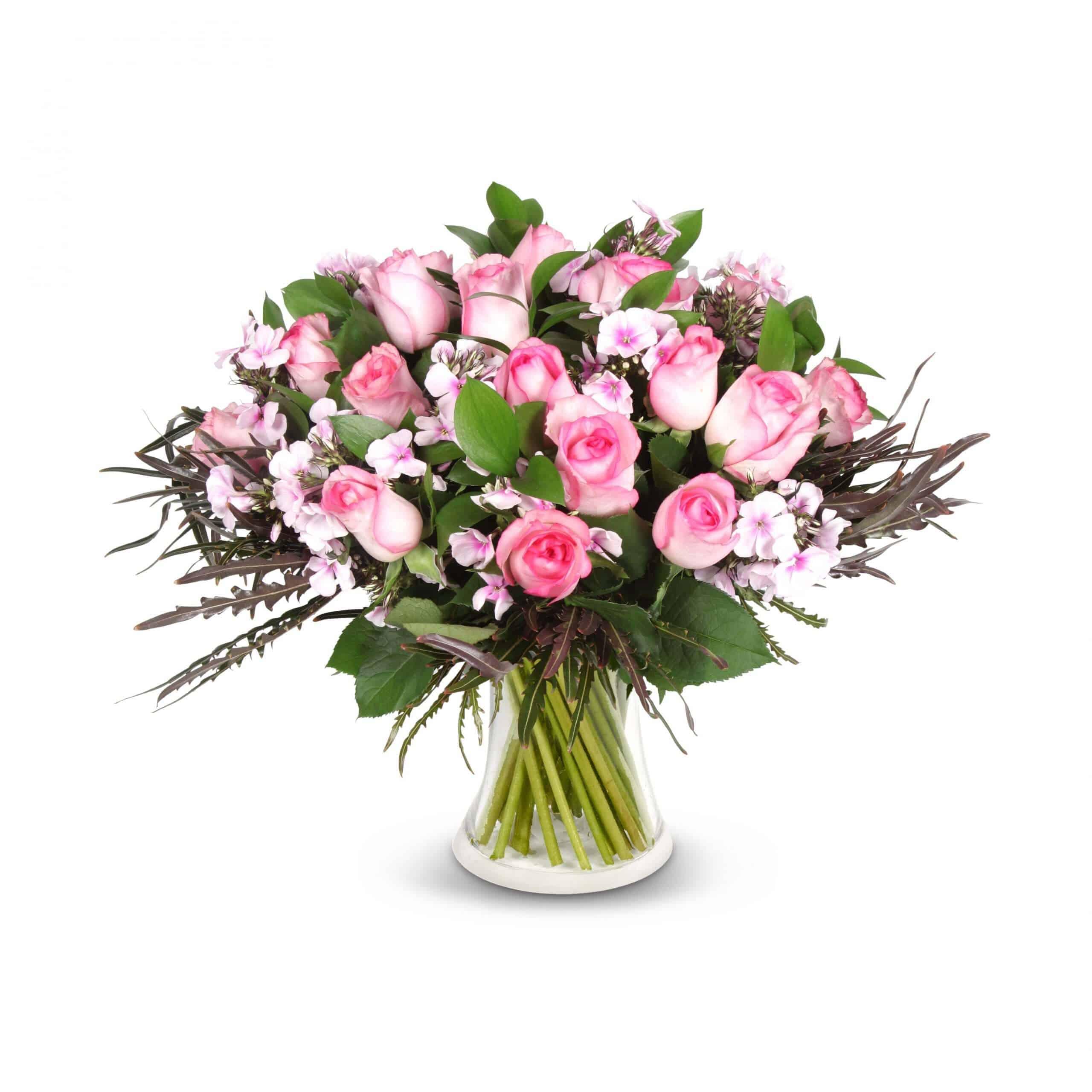 זר ורדים בורוד