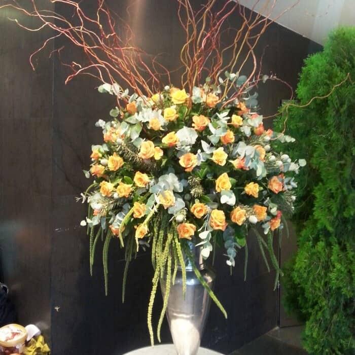 סידור פרחים לחתונה