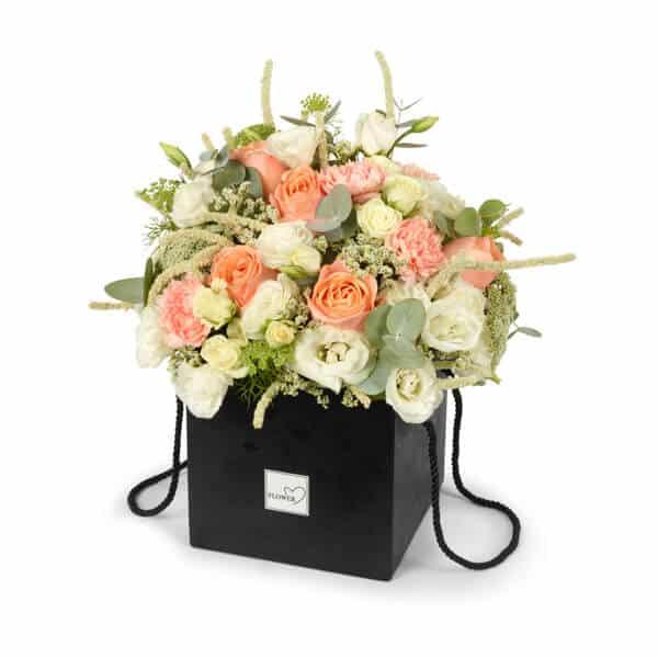 קופסת פרחים מרובעת