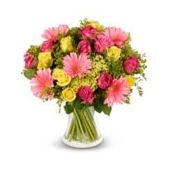 זר פרחים לאהבה