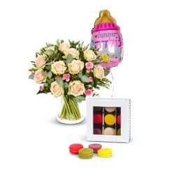 מבצע פרחים להולדת הבת