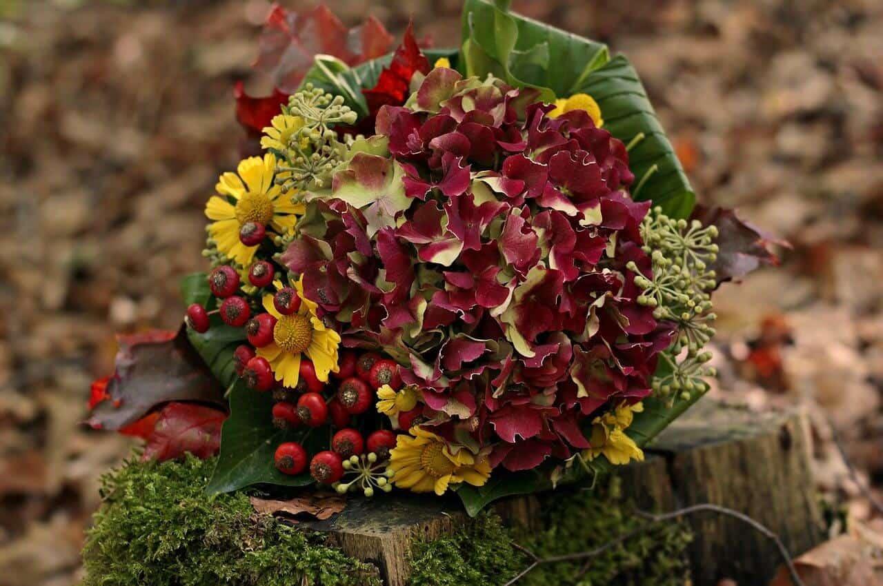 זר פרחים ליום הולדת
